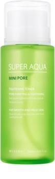 Missha Super Aqua Mini Pore pleťové tonikum pro stažení pórů