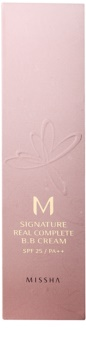 Missha M Signature Real Complete BB krém pre bezchybný a zjednotený vzhľad pleti SPF 25