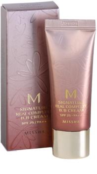 Missha M Signature Real Complete BB krém pro bezchybný a sjednocený vzhled pleti mini