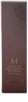 Missha M Signature Real Complete BB krém pro bezchybný a sjednocený vzhled pleti SPF 25