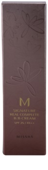 Missha M Signature Real Complete Perfecting BB Cream for Even Skin Tone SPF 25
