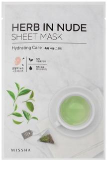 Missha Herb in Nude plátýnková maska s hydratačním účinkem