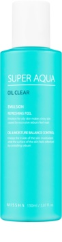 Missha Super Aqua Oil Clear osvěžující emulze