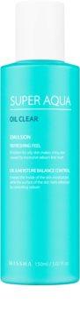 Missha Super Aqua Oil Clear Refreshing Feel Emulsion