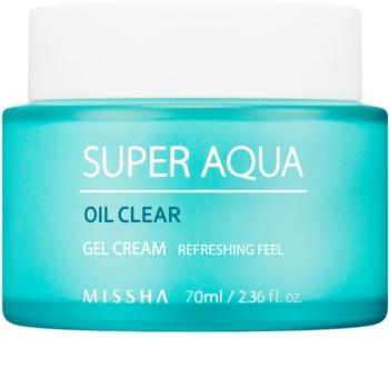 Missha Super Aqua Oil Clear creme gel hidratante