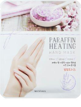 Missha Paraffin Heating Masca cu parafină pentru maini, cu un efect de încălzire