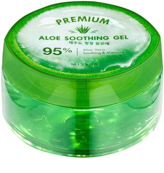 Missha Premium gel hidratante e calmante com aloe vera