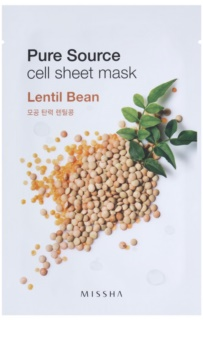 Missha Pure Source Softening and Refreshing Cloth Face Mask