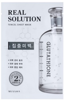 Missha Real Solution Sheet Mask with Whitening Effect