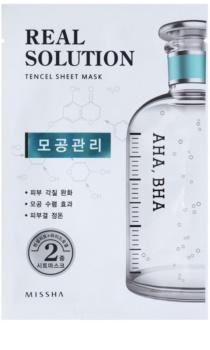 Missha Real Solution Zellschicht-Maske zur Reduzierung der Poren