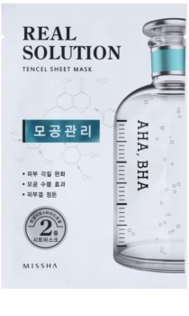 Missha Real Solution тканинна маска для звуження пор