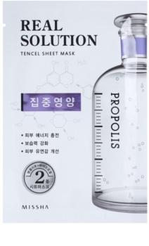 Missha Real Solution maska iz platna z revitalizacijskim učinkom