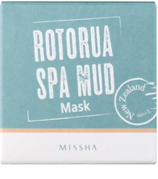 Missha Rotorua Spa Mud pleťová maska na rozšířené póry