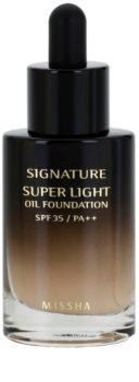 Missha Signature Fond de Ten Lichid pe bază de ulei SPF 35