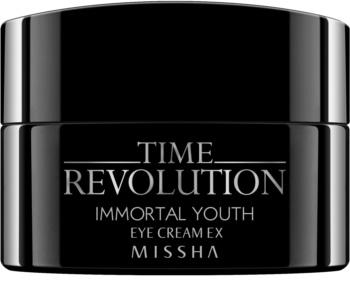 Missha Time Revolution Immortal Youth creme de olhos com efeito alisador