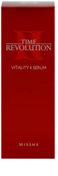 Missha Time Revolution Vitalising Skin Serum against expression wrinkles
