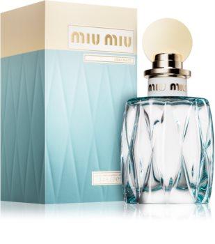 Miu Miu L'Eau Bleue eau de parfum para mujer 100 ml
