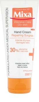 MIXA Anti-Dryness creme para mãos e unhas para pele extra seca