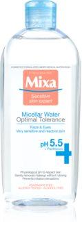 MIXA Optimal Tolerance agua micelar para calmar la piel