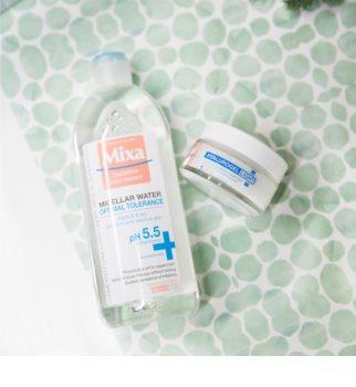 MIXA Hyalurogel Light creme facial hidratante com ácido hialurónico