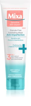 MIXA Anti-Imperfection Cleansing Mask Free of Exfoliating Particles