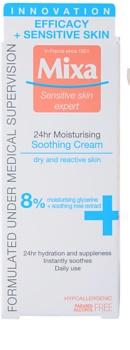 MIXA 24 HR Moisturising hydratační a zklidňující krém pro citlivou a intolerantní pleť