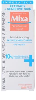 MIXA 24 HR Moisturising hydratační a vyživující krém pro velmi suchou pleť