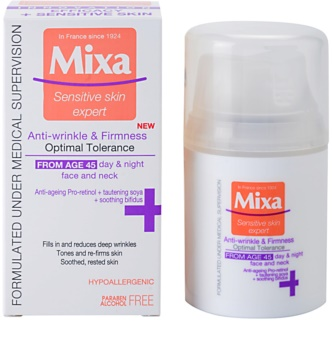 MIXA 24 HR Moisturising creme antirrugas refirmante 45+