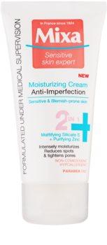 MIXA Anti-Imperfection hydratačná starostlivosť proti nedokonalostiam pleti