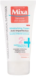 MIXA Anti-Imperfection Moisturizing Care to Treat Skin Imperfections