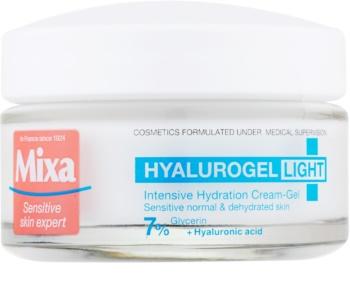 MIXA Hyalurogel Light feuchtigkeitsspendende Gesichtscreme mit Hyaluronsäure