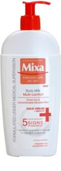 MIXA Multi-Comfort loção corporal refrescante para pele sensível