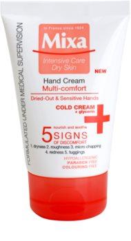 MIXA Multi-Comfort crema hidratante y nutritiva para manos