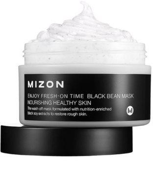 Mizon Enjoy Fresh-On Time Regenerierende und heilsam nährende Maske für raue und schuppige Haut