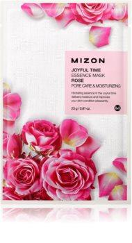 Mizon Joyful Time masque hydratant en tissu pour resserrer les pores