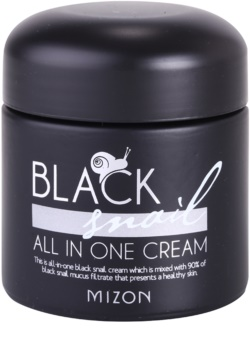 Mizon Black Snail All in One crème visage à la bave d'escargot filtrée 90%