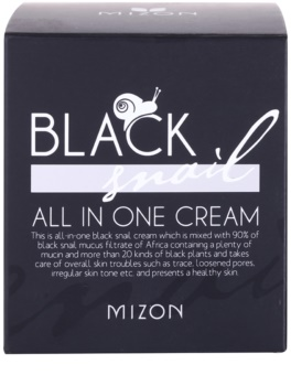 Mizon Black Snail krema za obraz s filtriranim polžjim izločkom 90%