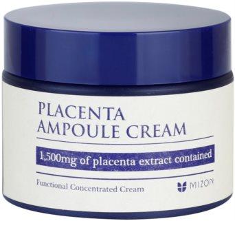 Mizon Placenta Ampoule Cream krema za regeneracijo in obnovo kože obraza