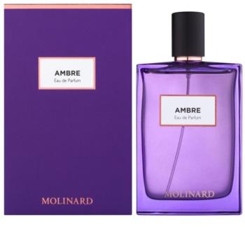 Molinard Ambre eau de parfum para mujer 75 ml