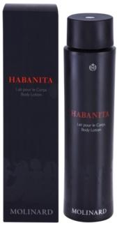 Molinard Habanita leite corporal para mulheres 150 ml