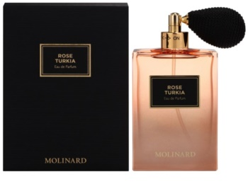 Molinard Rose Turkia eau de parfum para mulheres 75 ml