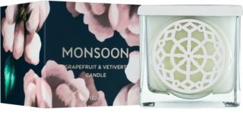 Monsoon Grapefruit & Vetivert świeczka zapachowa  180 g