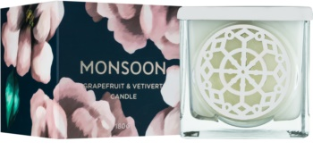 Monsoon Grapefruit & Vetivert vonná svíčka 180 g