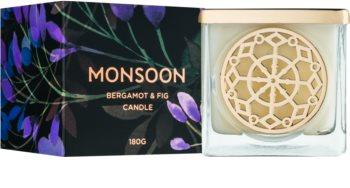 Monsoon Bergamot & Fig świeczka zapachowa  180 g
