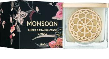 Monsoon Amber & Frakincense vonná sviečka 180 g