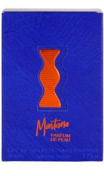 Montana Parfum de Peau Eau de Toilette voor Vrouwen  50 ml