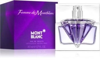 Montblanc Femme de Montblanc toaletní voda pro ženy 50 ml