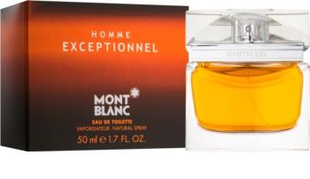 Montblanc Homme Exceptionnel eau de toilette per uomo 50 ml