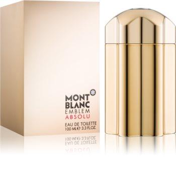 Montblanc Emblem Absolu Eau de Toilette for Men 100 ml