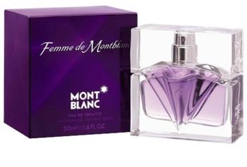 Montblanc Femme de Montblanc Eau de Toilette voor Vrouwen  50 ml